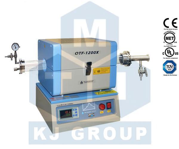 合肥万博体育手机版max客户端OTF-1200X-S 1200℃微型开启式管式炉