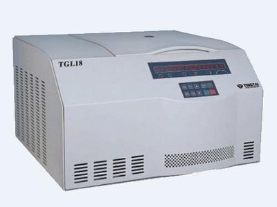 TGL18/TGL18C台式高速冷冻离心机
